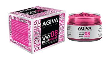 Resim Agiva Wax 120Gr 08 Pembe