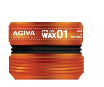 Resim Agiva Wax 175Ml 01 (Islak ) Turuncu