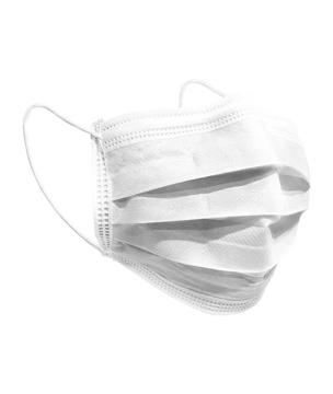 Resim 3 Katlı Ultrasonik Dikişli 100 adet Telli Maske